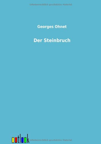 9783864036248: Der Steinbruch (German Edition)