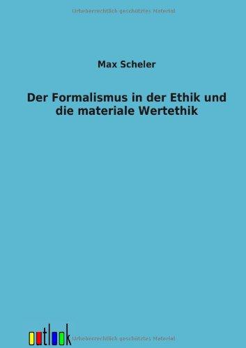 9783864037870: Der Formalismus in der Ethik und die materiale Wertethik