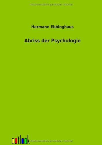 9783864037986: Abriss der Psychologie (German Edition)