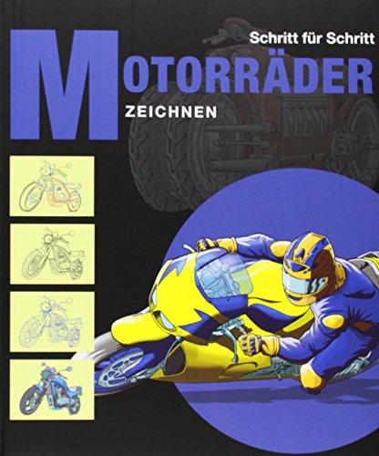 9783864074691: Motorräder zeichnen