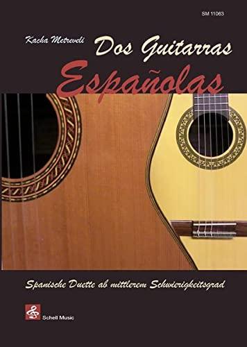 9783864110634: Kacha metreveli: spanish music for two guitars