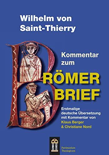 9783864170072: Wilhelm von Saint-Thierry