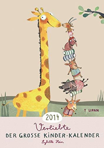 9783864291159: Der große Kinder-Kalender 2014: Verliebte