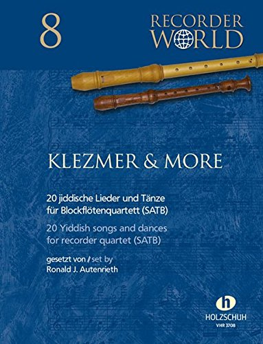 "9783864340192: Klezmer & More: aus der Serie ""Recorder World"""