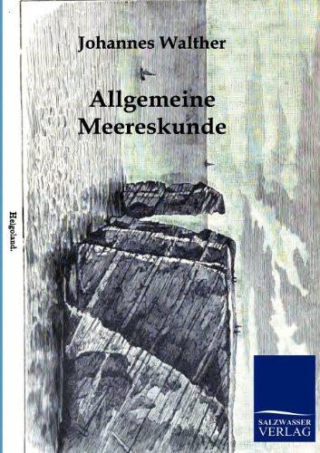 9783864440021: Allgemeine Meereskunde