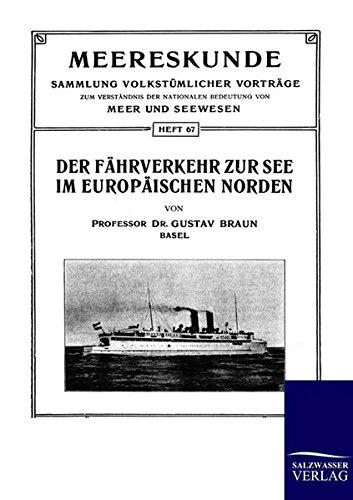 9783864442506: Der Fährverkehr zur See im Europäischen Norden (German Edition)