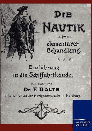 9783864442797: Die Nautik in elementarer Behandlung (German Edition)