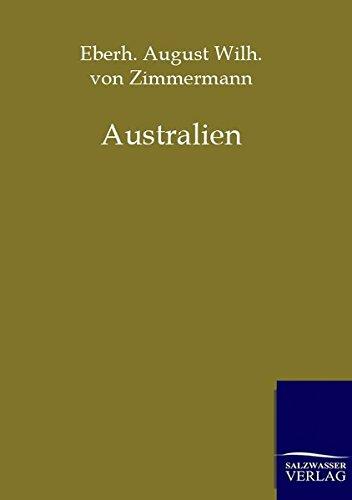 Australien: Eberhard August Wilhelm von Zimmermann