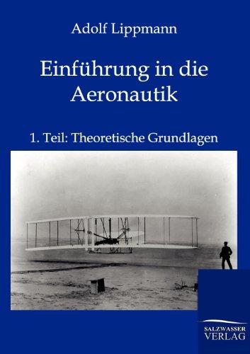 Einf hrung in Die Aeronautik (Paperback): Adolf Lippmann