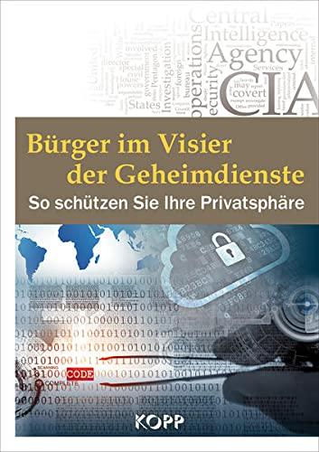 9783864451089: Bürger im Visier der Geheimdienste