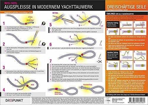 9783864482564: Augspleiße in modernem Yachttauwerk: Augspleiße in modernem geflochtenem und gedrehtem Yachttauwerk herstellen