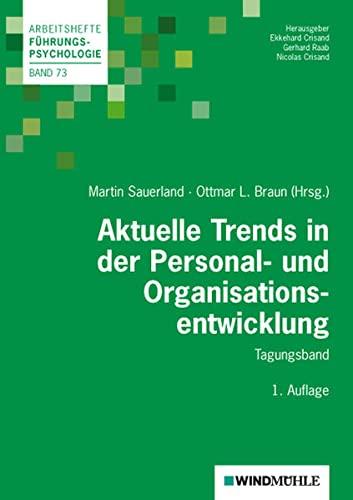 9783864510175: Aktuelle Trends in der Personal- und Organisationsentwicklung: Tagungsband