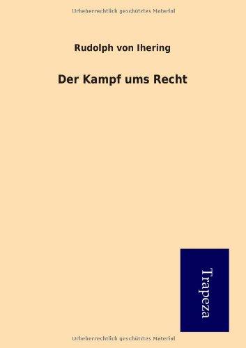 9783864548451: Der Kampf ums Recht (German Edition)