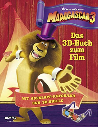 9783864580864: Madagascar3: Das 3D-Buch zum Film