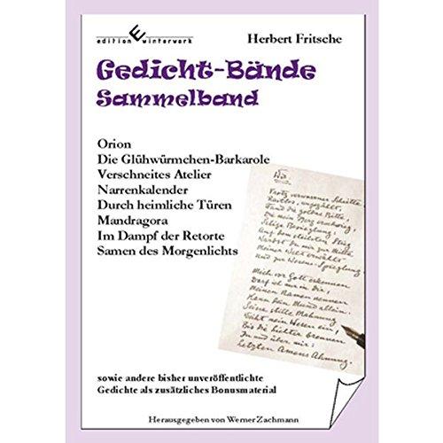 Gedicht-Bände - Sammelband - Herbert Fritsche