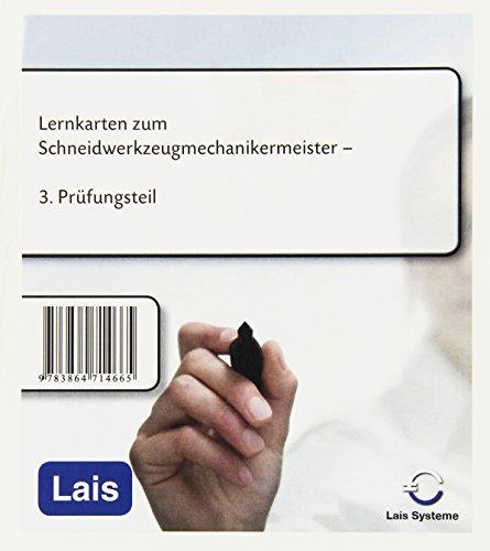 9783864714665: Lernkarten zum Schneidwerkzeugmechanikermeister: 3. Prüfungsteil