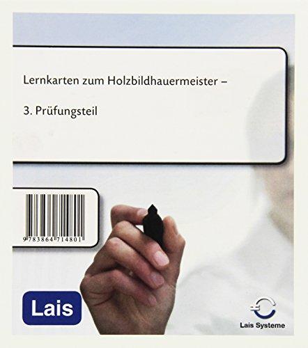 Lernkarten zum Holzbildhauermeister