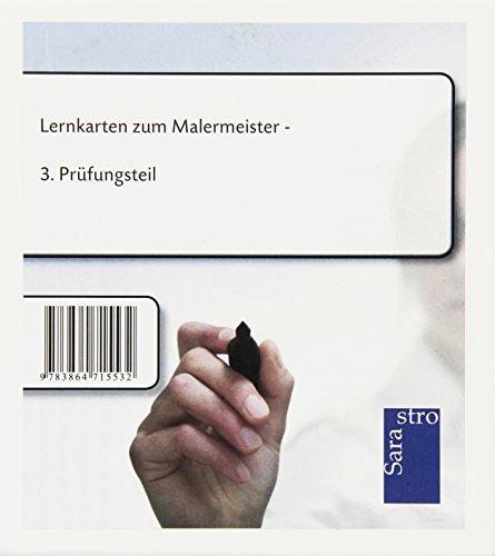 Lernkarten zum Malermeister