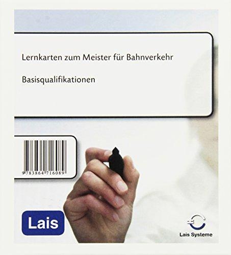Lernkarten zum Meister für Bahnverkehr