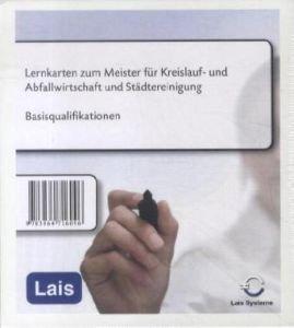 Lernkarten zum Meister für Kreislauf- und Abfallwirtschaft und Städtereinigung