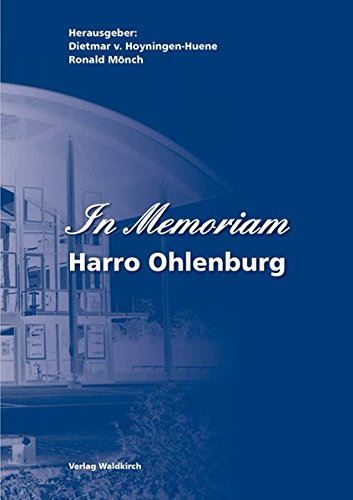 Hoyningen-Huene:In Memoriam Harro Ohlen