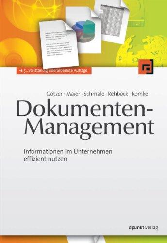 Dokumenten-Management: Klaus G??tzer