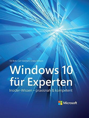 9783864903250: Windows 10 für Experten