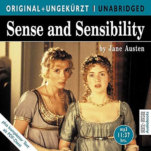 9783865055200: Sense and Sensibility: Sinn und Sinnlichkeit. Die englische Originalfassung ungekürzt