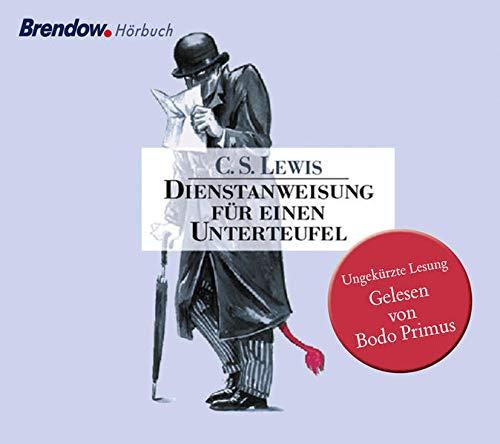 Dienstanweisung für einen Unterteufel, 4 Audio-CDs: Lewis, C. S.