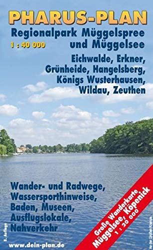 9783865140456: Müggelsee, Grünheider Wald- und Seengebiet, Regionalpark Müggelspree