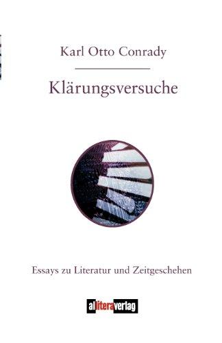 9783865201225: Klärungsversuche (German Edition)