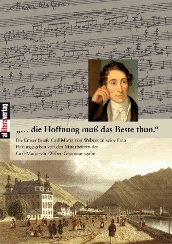 9783865202772: ...die Hoffnung muß das Beste thun. (German Edition)