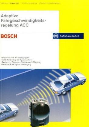 9783865220189: Adaptive Fahrgeschwindigkeitsregelung ACC