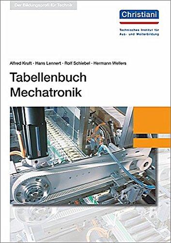 Tabellenbuch Mechatronik: Getrennte Fachteile: Elektrotechnik und Mechanik: Kruft, Alfred, Lennert,