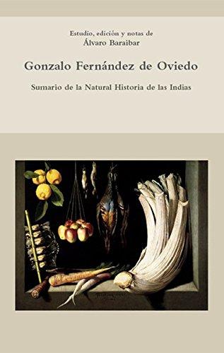 9783865276131: Sumario de la Natural Historia de las Indias