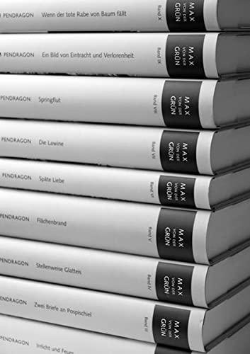 9783865322692: Max von der Grün Werkausgabe in 10 Bänden