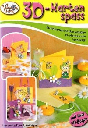 9783865350275: 3D-Kartenspass. Bunte Karten mit den witzigen 3D-Motiven von Vielseidig!