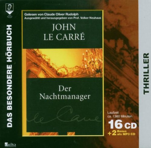 9783865384904: Der Nachtmanager. 16 CDs + 2MP3 CD's