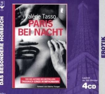 9783865386304: Paris bei Nacht, 4 Audio-CDs