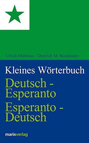 9783865391827: Kleines W�rterbuch. Deutsch-Esperanto / Esperanto-Deutsch