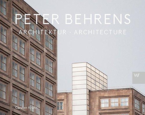 9783865396877: Peter Behrens Architektur: Mit allen Grundrissen