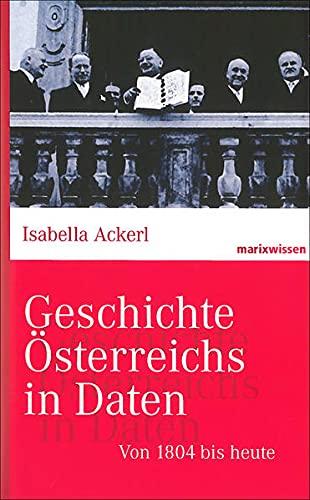 9783865399458: Geschichte Österreichs in Daten