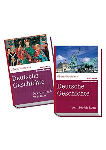 9783865399519: Deutsche Geschichte 1+2 im Paket: Band 1: Das Alte Reich 962-1806, Band 2: Von 1806 bis heute