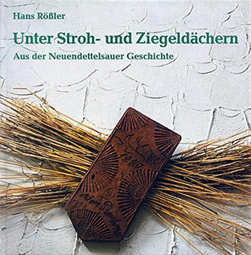 Unter Stroh- und Ziegeldächern: Aus der Neuendettelsauer Geschichte: Hans R�ssler