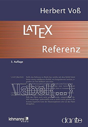 9783865415639: LaTeX-Referenz