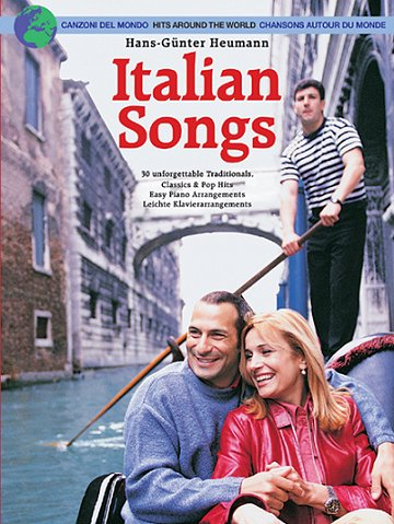 9783865430229: Italian Songs