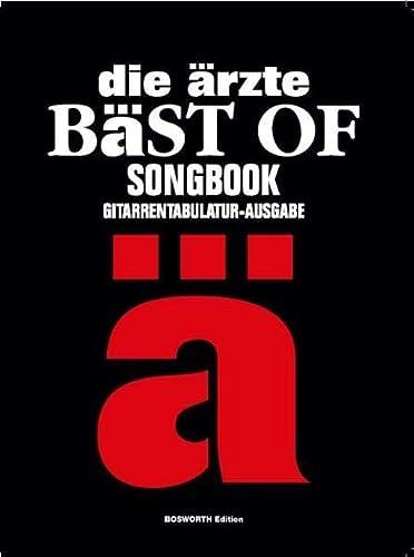 9783865433008: Die Ärzte - Bäst Of: Songbook Gitarrentabulatur - Ausgabe