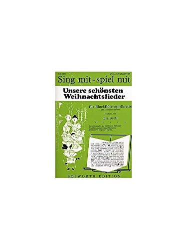 9783865433855: Unsere Schonsten Weihnachtslieder