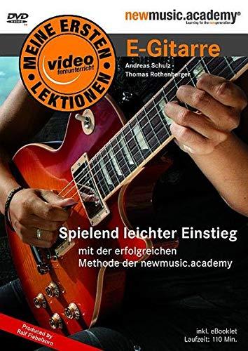 9783865434852: Meine Ersten Lektionen E-Gitarre. Spielend leichter Einstieg [Alemania] [DVD]