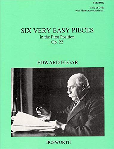 9783865435415: Edward Elgar: Six Very Easy Pieces Op.22